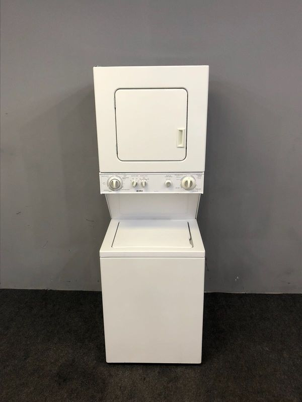 Kenmore Washer and Dryer stacked combo apartment size GAS dryer 24 ...