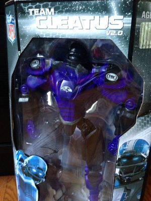 Baltimore Ravens Team Cleatus V2.0 Robot Action Figure / Toy for Sale in Washington, DC