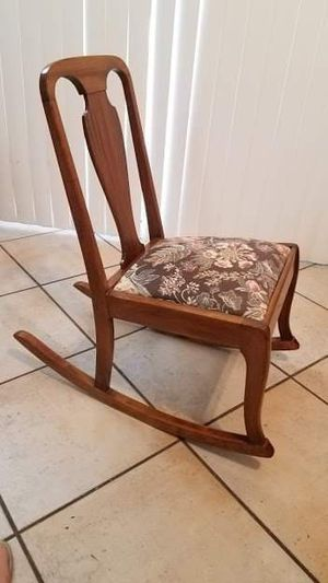 Magnificent New And Used Rocking Chair For Sale In Phoenix Az Offerup Forskolin Free Trial Chair Design Images Forskolin Free Trialorg