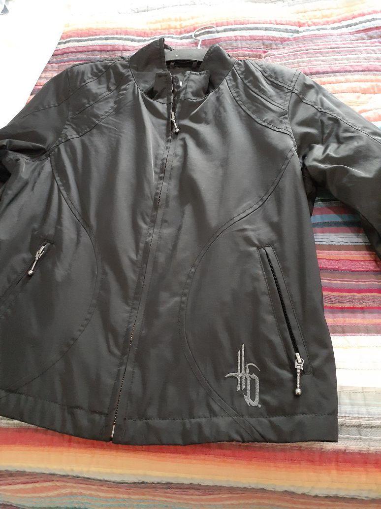 Photo Womens Nylon Harley Davidson Jacket