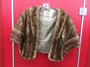 Vintage Mink Fur Stole Shawl for Sale in Rockville, MD