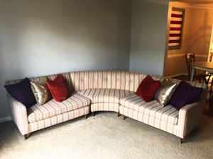 Mid century round sectional for Sale in Washington, DC