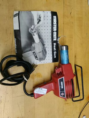 $49.99 - Master-Mite Heat Gun (mod.10008) for Sale in Spring Valley, CA