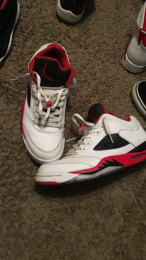 1ddff10dae7bc8 Jordan 5 Fire Red Low size 11 for Sale in La Verne