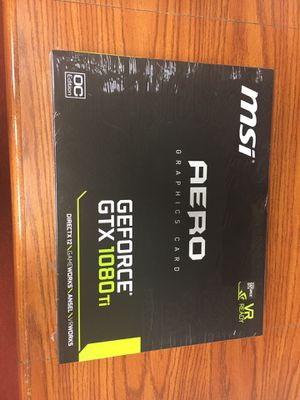 Aero graphics card GeForce gtx 1080ti for Sale in Cleveland, OH