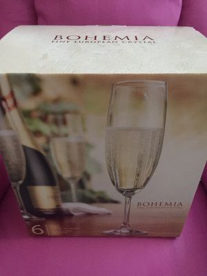 Bohemia Crystal White Wine Glasses (Set of 6) for Sale in Annandale, VA