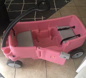 Photo Pink Step2 Wagon kids toddler