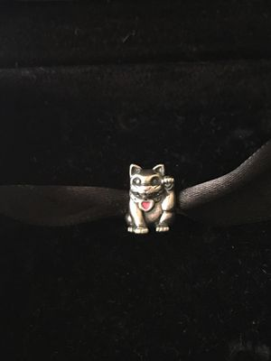 Pandora kitty charm for Sale in Alexandria, VA