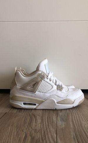 "Air Jordan 4 Retro GG ""Linen"" Size 6.5 for Sale in Tampa, FL"