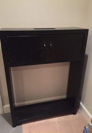 Dark wood console table for Sale in Falls Church, VA