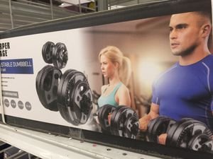 NEW! Sharper Image Ajustable dumb bell weight set! for Sale in Torrance, CA