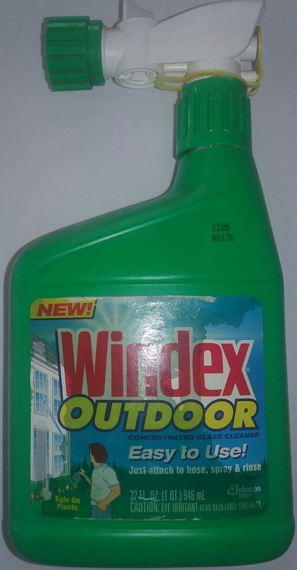 Windex Outdoor Concentrated Glass Cleaner For Sale In San