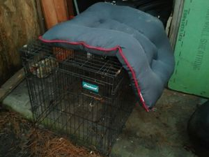 Dog kennel with sleeping mat for Sale in Kingsland, GA