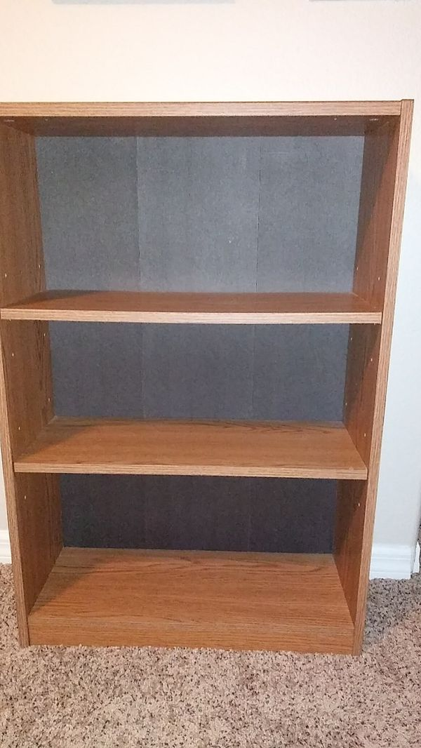 Enjoyable Bookshelf 2 Adjustable Shelves For Sale In Clermont Fl Offerup Home Interior And Landscaping Elinuenasavecom