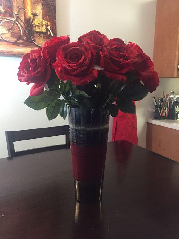 Flowers & Vase. Baton Rouge ...