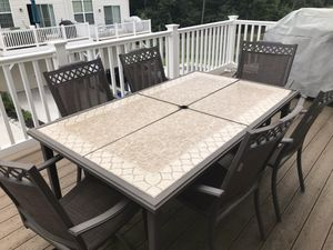 Patio furniture set for Sale in Colesville, MD