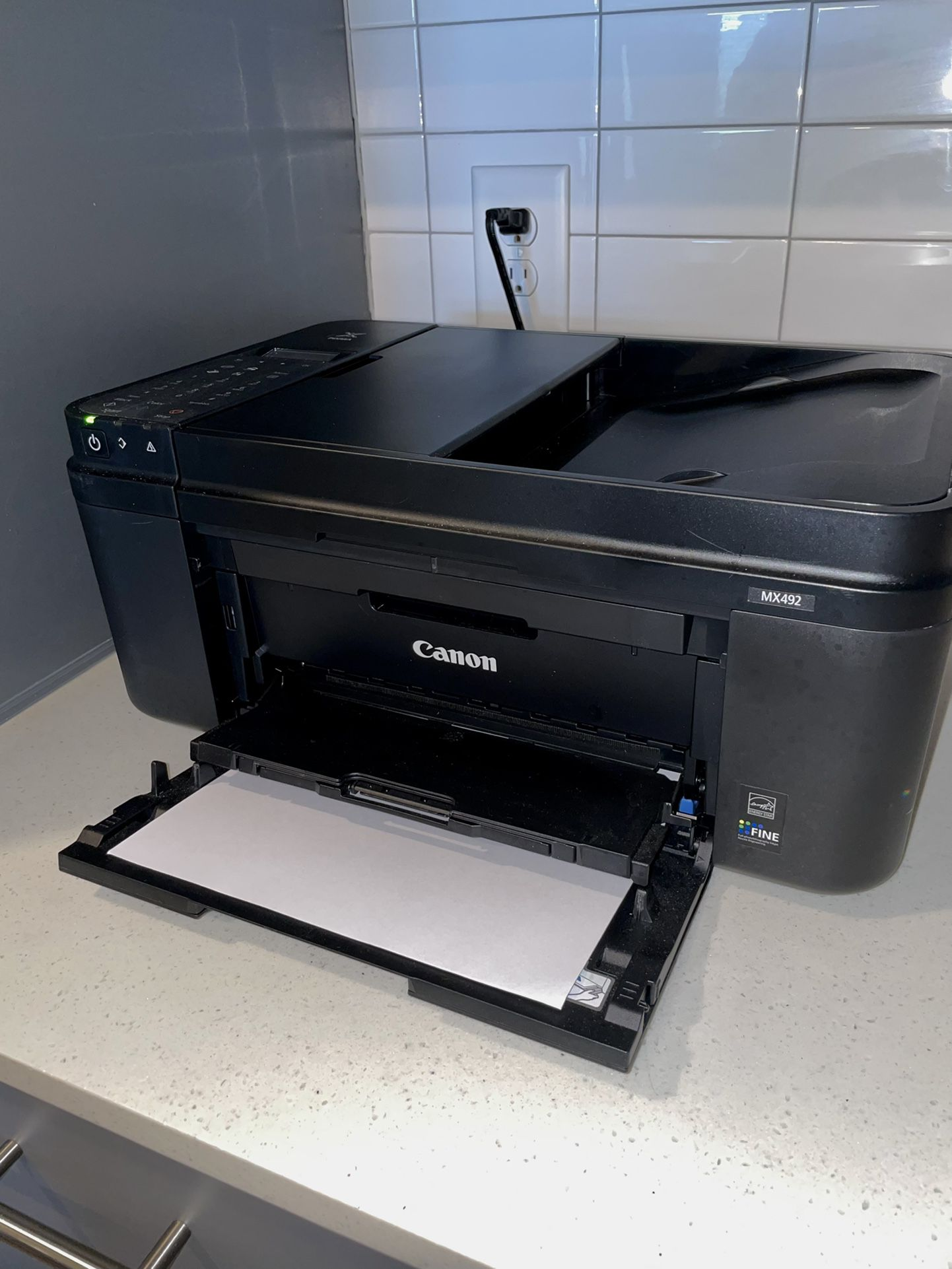 Cannon printer/scanner/fax/copy