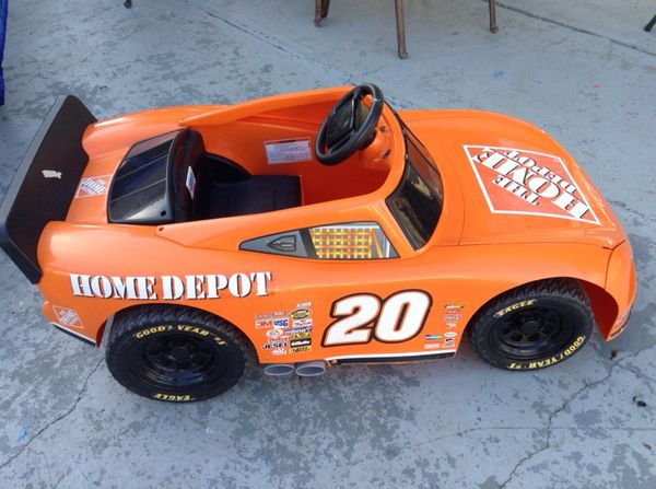 12v Power Wheels Home Depot Nascar Racing Car For Sale In San Jose