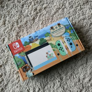 Photo Nintendo Switch Animal Crossing: New Horizon Console!