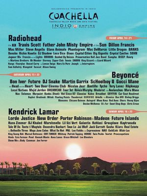 Two Coachella Weekend 1 GA Tickets for Sale in Los Angeles, CA