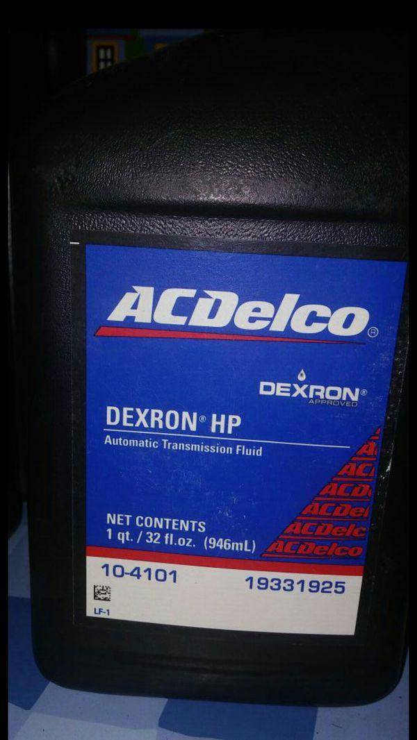 fluid hp dexron transmission delco ac atf automatic performance offerup corvette camaro ss