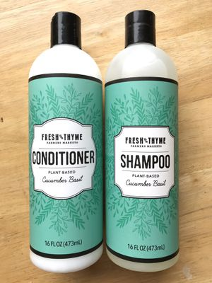 Fresh Thyme organic vegan, clean shampoo and conditioner new! for Sale in New York, NY