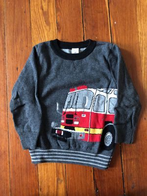 Toddler fire truck sweater-3t for Sale in Boston, MA