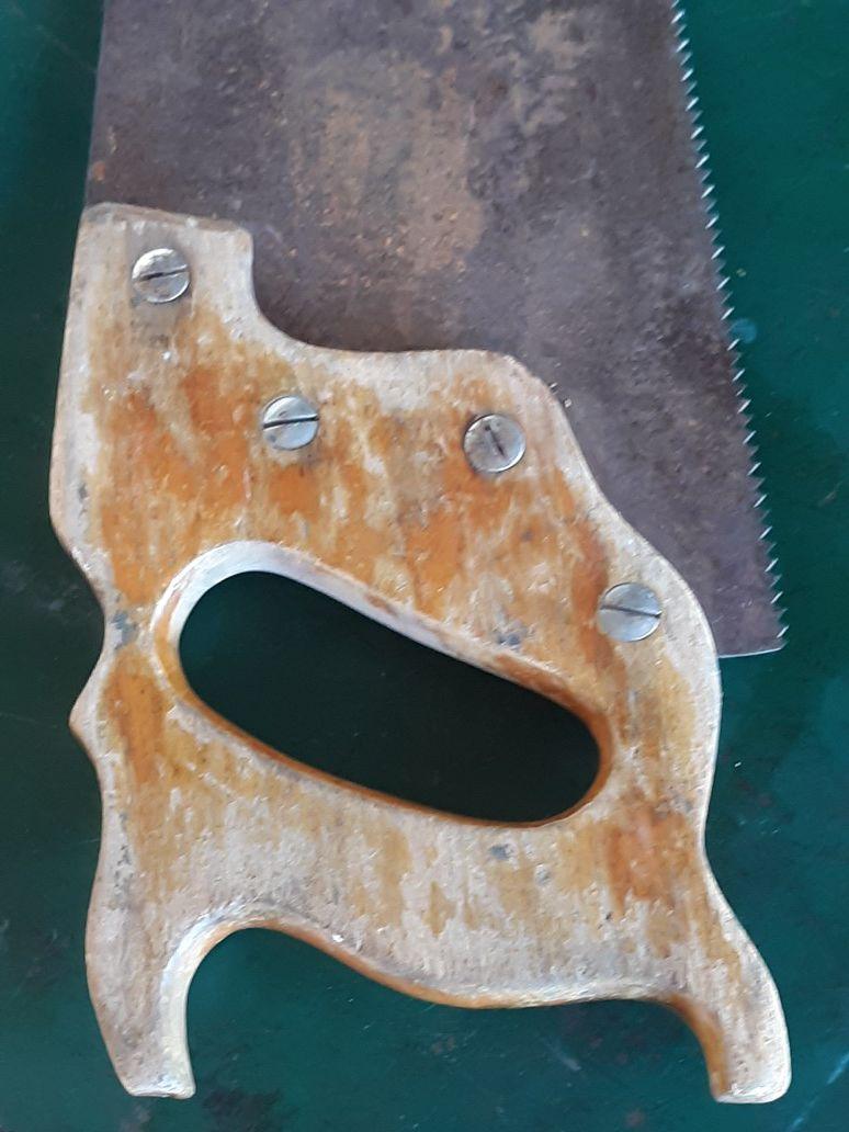 Vintage wood saw