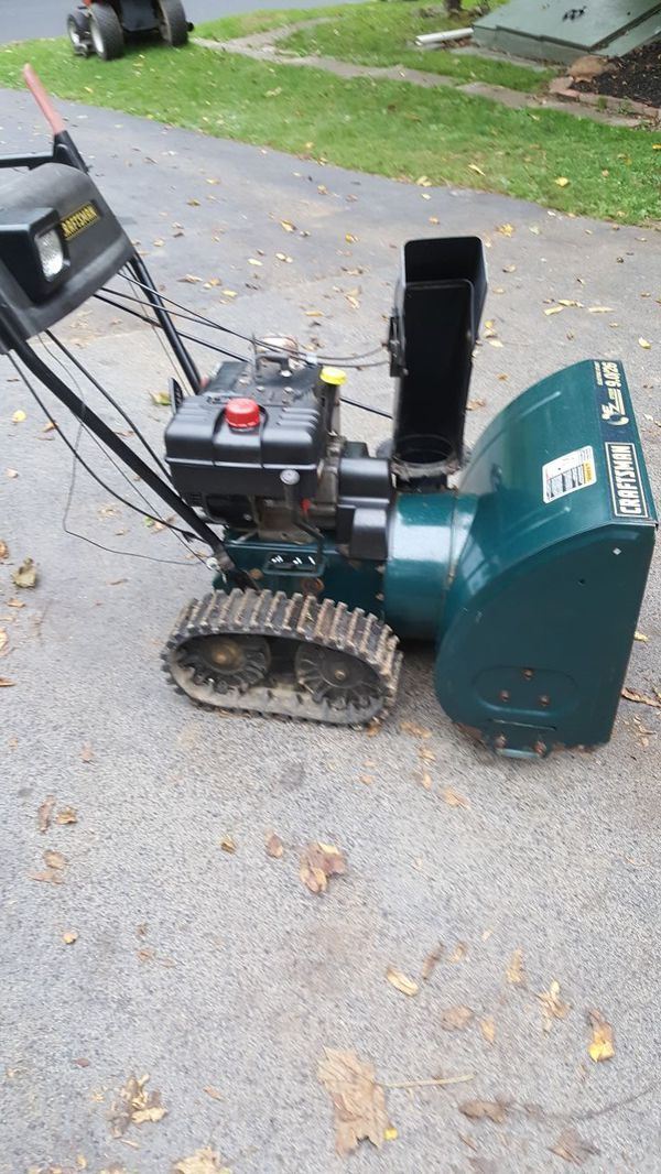 Craftsman 9 0 Hp 26 Inch Track Drive 2 Stage Snow Blower