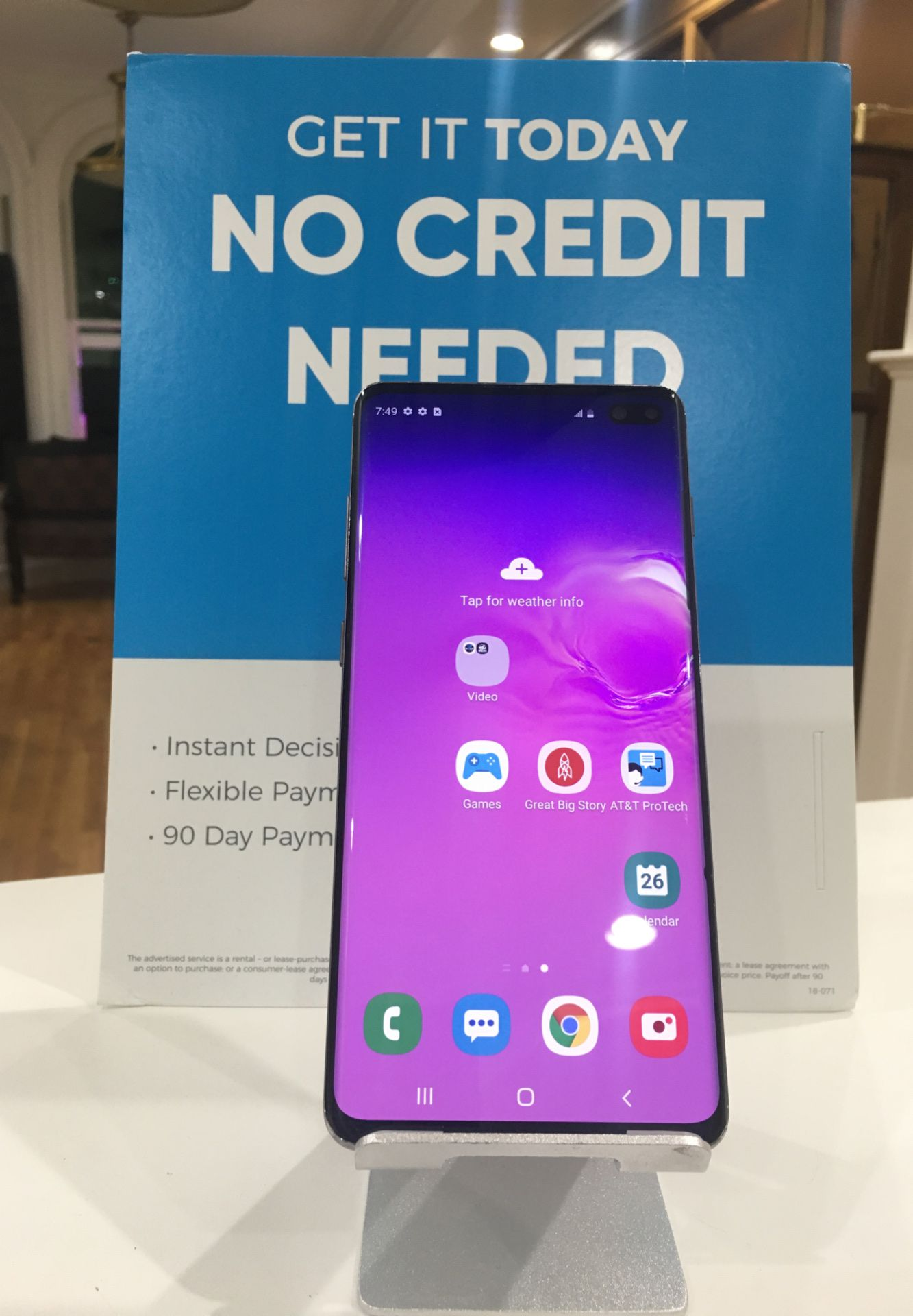 SAMSUNG S10PLUS 512GB FACTORY UNLOCKED GREAT CONDITION