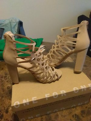 Women Charlotte Russe heels size 8 1/2 for Sale in Austin, TX