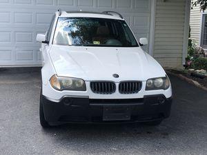 2004 white BMW X3 for Sale in Lorton, VA