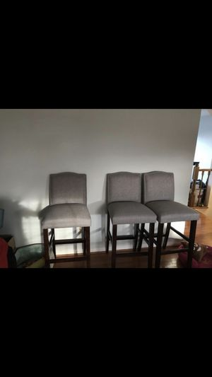 Gray bar stools for Sale in Sterling, VA