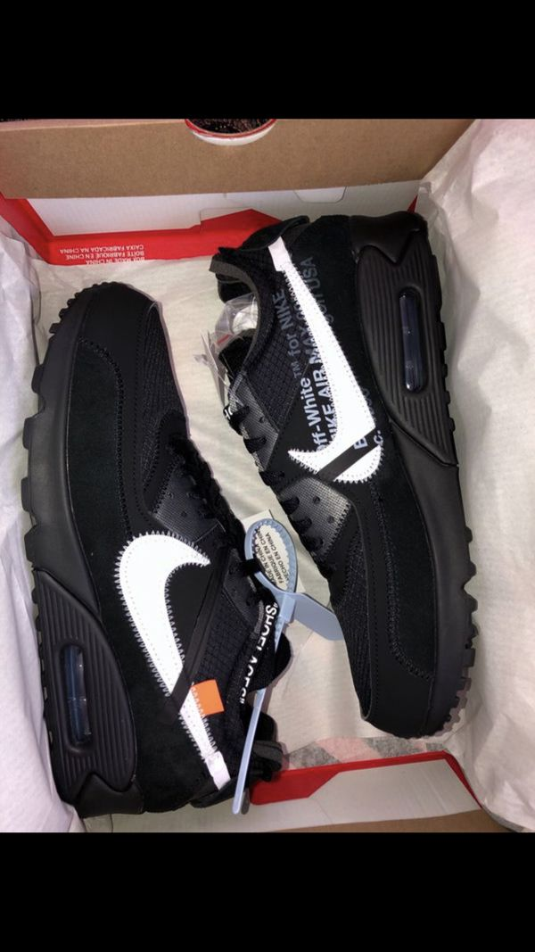 6ecd51ce3aa5 Off white air max 90 size 9.5 for Sale in Maywood