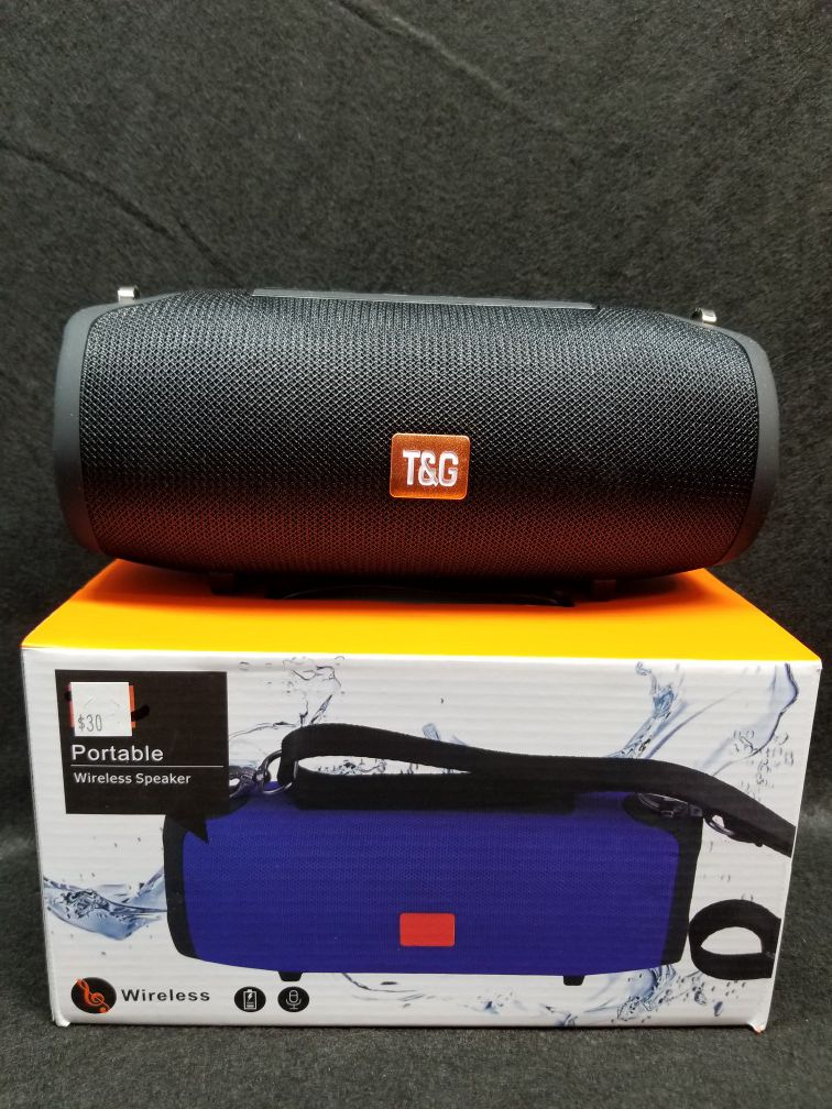 New portable Bazooka style Rechargeable Bluetooth Wireless Speaker Sd Card, Usb flash Drive Fm Radio Speaker ( Bosina ) Bz2