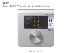 Zoom Tac-2 Thunderbolt Audio Interface for Sale in Woodbridge, VA
