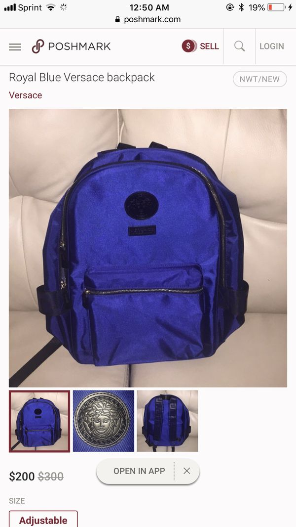 9c5722f9205 Versace back pack for Sale in Vallejo, CA - OfferUp