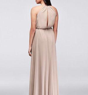 1b85875a781 David s Bridal Soft Mesh Halter Dress in Ballet Pink for Sale in Santa Ana