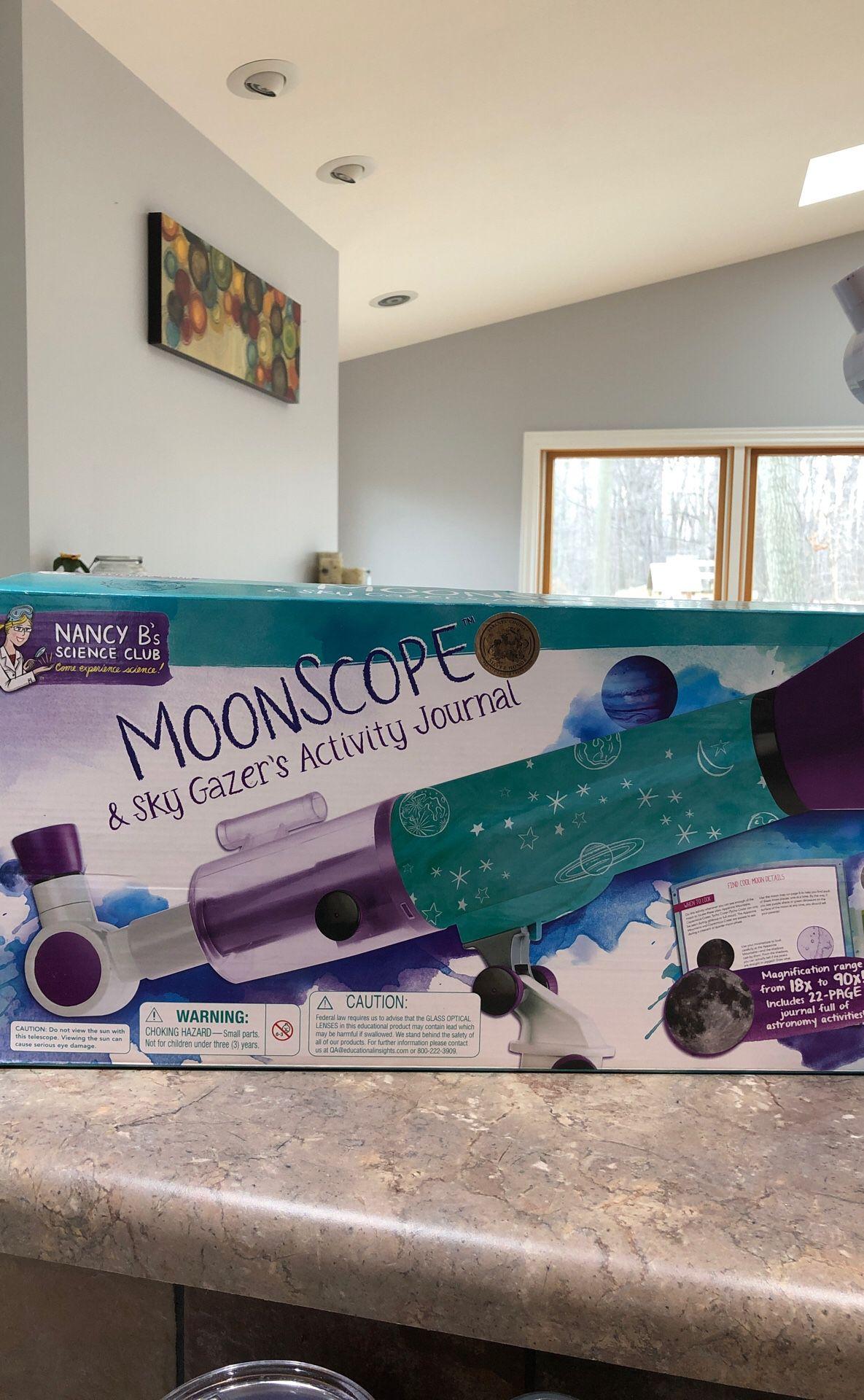 Nancy B's 🌙 moonscope & sky gazer