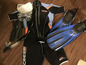 Diving /scuba gear only used in pool -Cash Only for Sale in Austin, TX