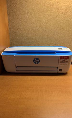 HP Printer DeskJet 3755 Blue J9V90A_B1H for Sale in Washington, DC