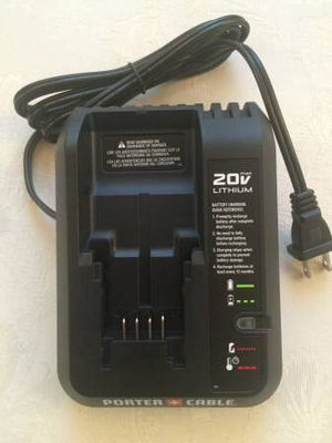 Porter Cable 20v Battery Charger for Sale in Leesburg, VA