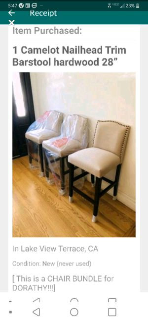 Photo Camelot 28 inch bar stools