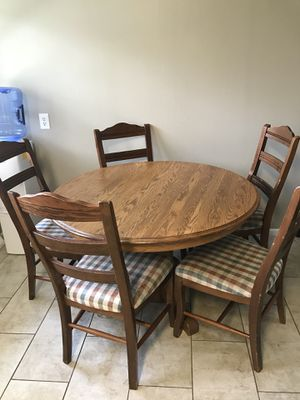 Super New And Used Dining Table For Sale Offerup Home Interior And Landscaping Elinuenasavecom