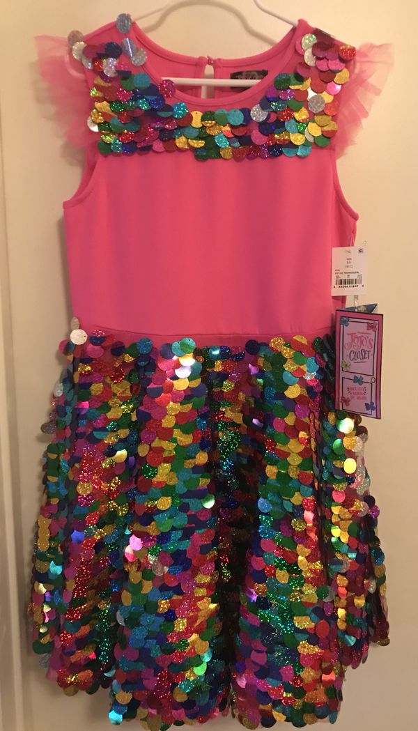 270e9480 Jojo Siwa Sequin Dress up/Party dress Size 10/12 for Sale in Huntington  Beach, CA - OfferUp