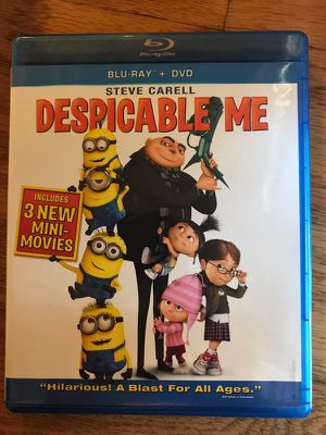 Despicable Me Blu-ray DVD for Sale in San Diego, CA