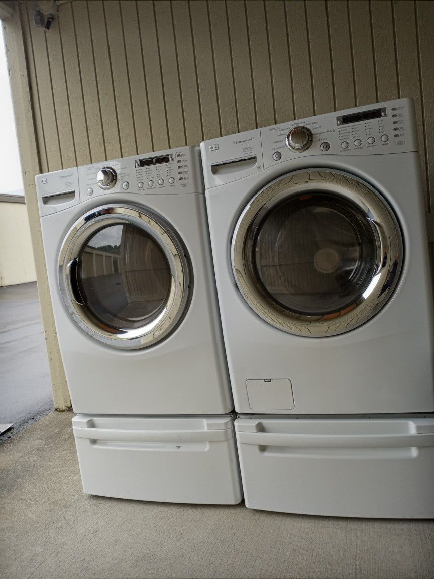 Washer And Dryer L G