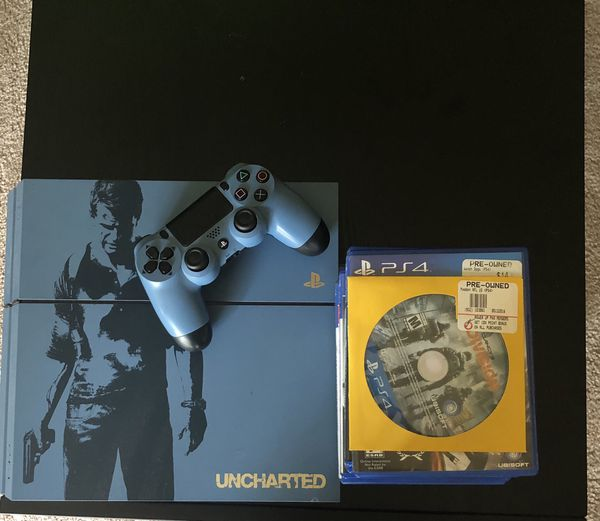 Ps4 Limited Edition Uncharted 4 With 10 Games For Sale In Roanoke