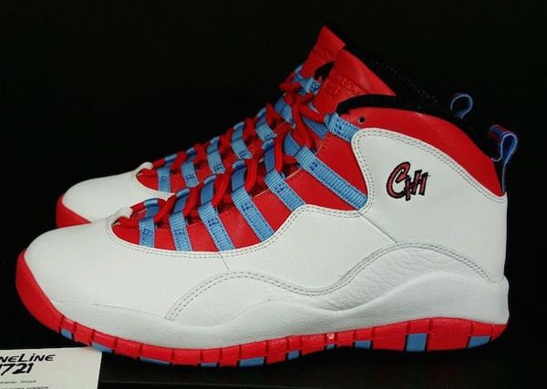 "best service 51215 33cb0 Air Jordan Retro 10 s""Chicago Flag"" Size 13 DeadStock"