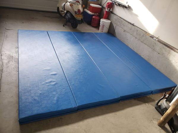 8x8 foot total Wrestling MMA Judo Mat/wall mats (4 mats size 2x8) for Sale  in Hillsboro, OR - OfferUp